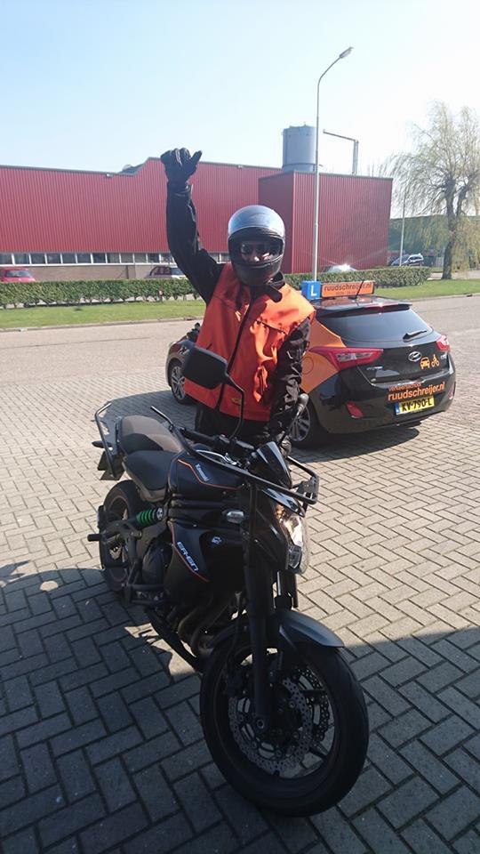 Ruud Schreijer, rijschool Hoorn, rijles Hoorn, motorrijbewijs Hoorn