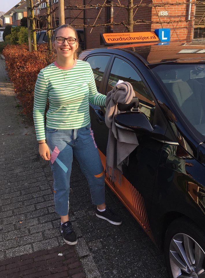 Lisa Licht, Ruud Schreijer, Hoorn, Rijbewijs, Autorijbewijs.