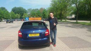 Maikel Witlox, rijschool Hoorn, Ruud Schreijer, rijbewijs, altijd slagen