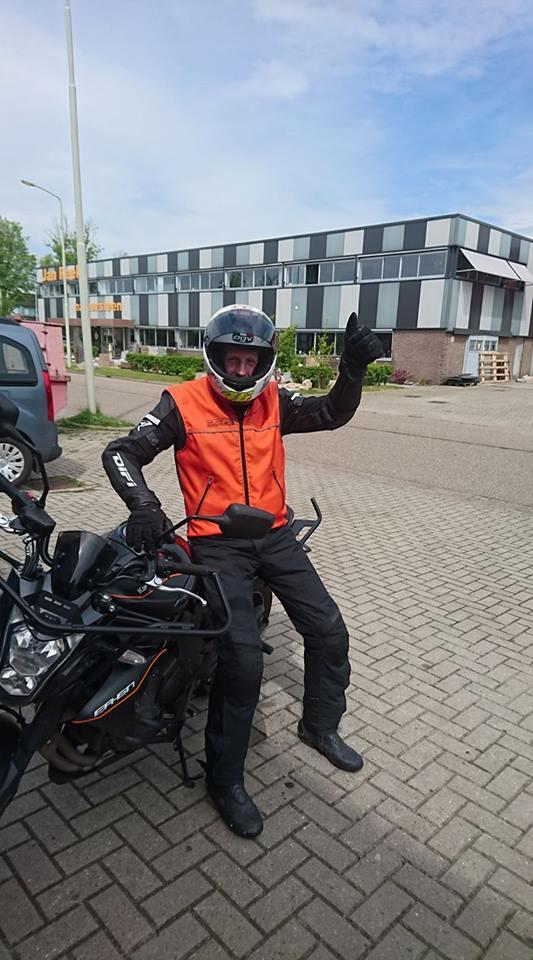ruud verbrugge, motorrijbewijs, motorrijschool, Hoorn