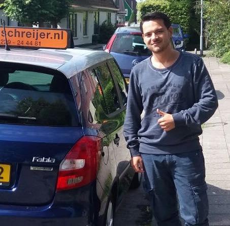 Jorick Hageman, Ruud Schreijer, autorijles Hoorn, rijschool Hoorn, rijles Hoorn, rijbewijs halen Hoorn.
