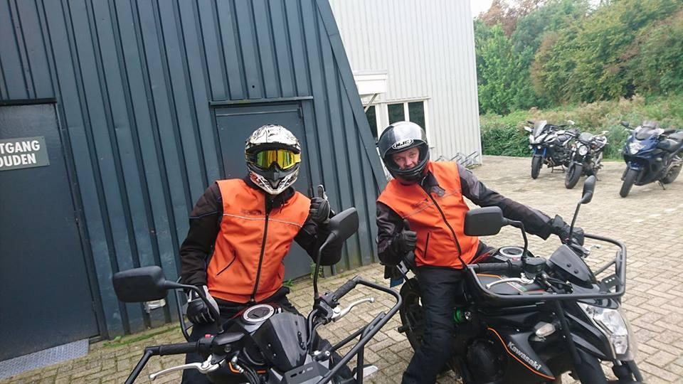 Anthony Buccafurno, Laurynas, Kubilskis, Ruud Schreijer, rijles, rijschool, motorrijbewijs, motorrijles