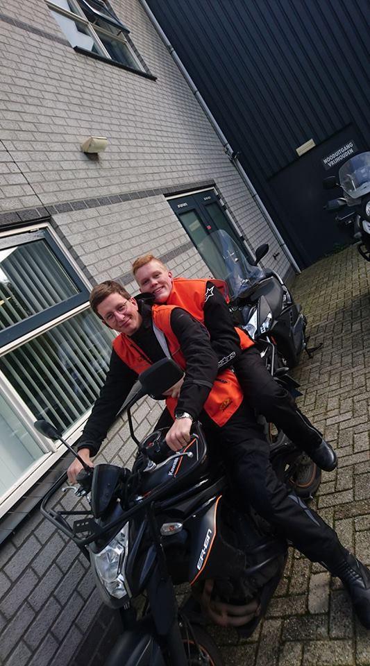 Marijn Maarse, Luuk Ditmar, Ruud Schreijer, motorrijbewijs, motorrijden, motorrijles, Hoorn