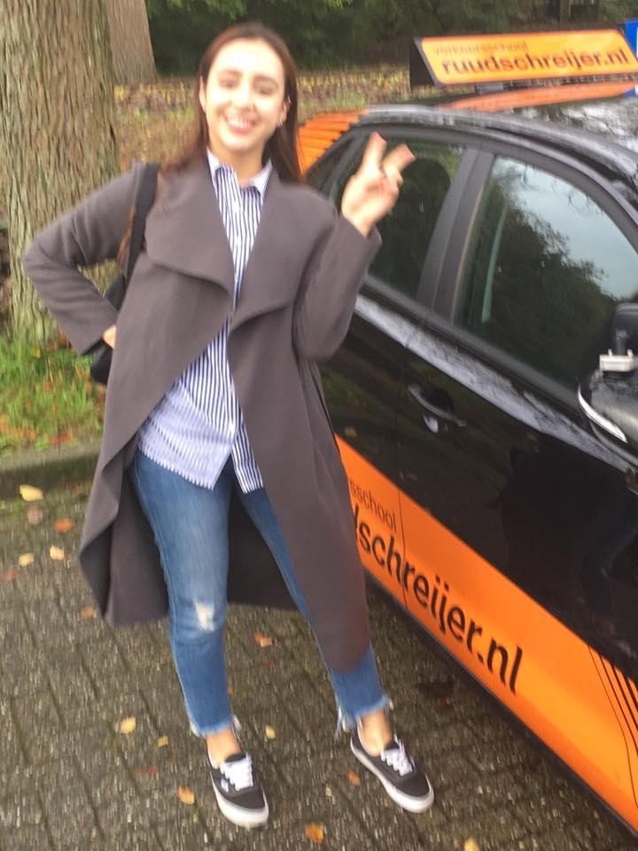Nora Zidi, Ruud Schreijer, rijschool Hoorn, rijschool wognum, Rijschool West Friesland, Rijschool berkhout