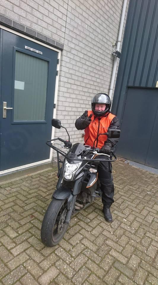 Paul Groes, Ruud Schreijer, motorrijles, motorrijbewijs, motorrijden, Hoorn