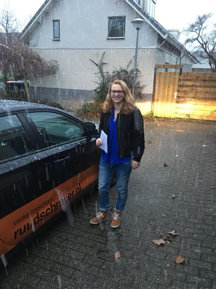 Fleur Hendriks, Ruud Schreijer, CBR, Hoorn, Sneeuw, Hagel