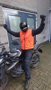 Marcel Kallisiki, Ruud Schreijer, motorrijbewijs, rijschool Hoorn, Rijschool zwaag, rijschool risdam, rijschool West Friesland